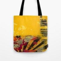YELLOW4 Tote Bag
