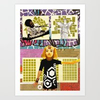 Muses of the Subconscious Art Print