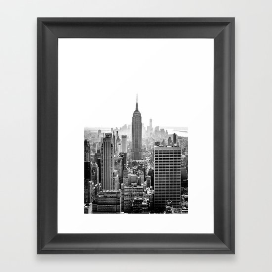 New York City Framed Art Print By Studio Laura Campanella