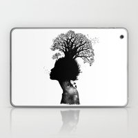 Natural Black Woman Laptop & iPad Skin