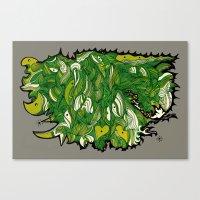Green Machine. Canvas Print