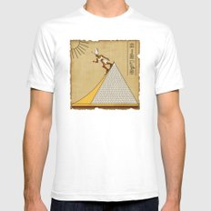 The real purpose Mens Fitted Tee White SMALL