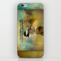 Chickadee Chaos iPhone & iPod Skin