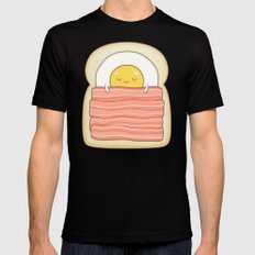 bed and breakfast Mens Fitted Tee Black SMALL