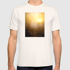 Golden Dawn Mens Fitted Tee Natural SMALL