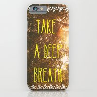iPhone & iPod Case featuring Breathe by AA Morgenstern