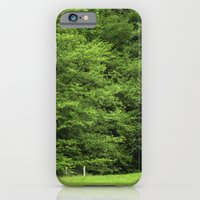iPhone & iPod Case featuring bosque by guxuri