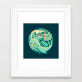 Framed Art Print - Into the Ocean - Enkel Dika