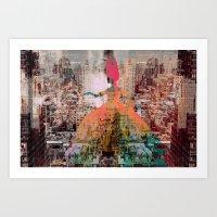 New York 9 Art Print