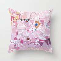 Tiling With Pattern 5 Throw Pillow