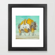 90K GORILLA (everyday 12… Framed Art Print