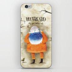 Bluebeard iPhone & iPod Skin