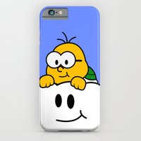 iPhone & iPod Case featuring Minimalist Lakitu by beware1984