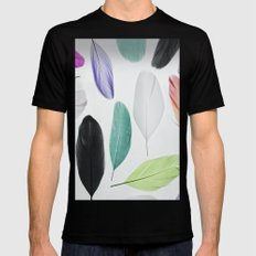 Feathers Mens Fitted Tee Black SMALL