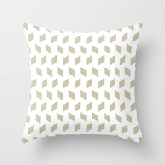 rhombus bomb in tidal foam Throw Pillow