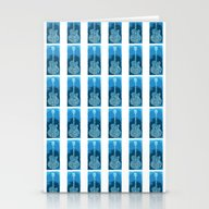 Blues Guitar Stationery Cards
