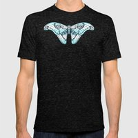 Fly Fancy Mens Fitted Tee Tri-Black SMALL