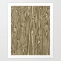 Against the Grain Art Print