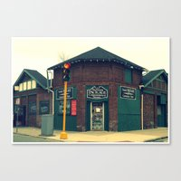 Summit Package Store in Springfield, MA Canvas Print