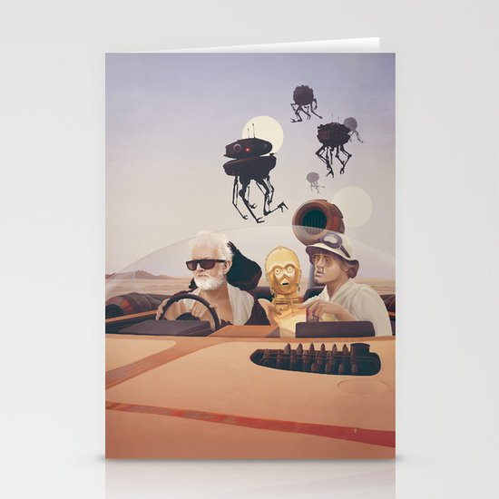 Fear and Loathing on Tatooine Stationery Card