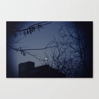 Highline Moon Canvas Print