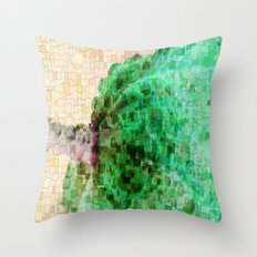 Dew Mosaic Throw Pillow
