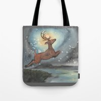 Moon Blindness Tote Bag