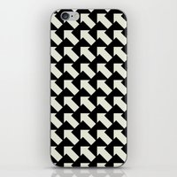 White Arrows iPhone & iPod Skin