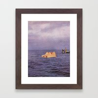 Undercurrent Framed Art Print