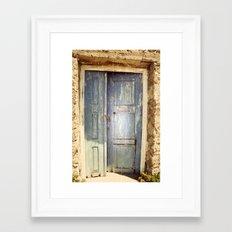 If It Doesn't Open, It's Not Your Door Framed Art Print