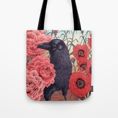 Crow Effigy Tote Bag