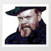 Orson Paint Art Print
