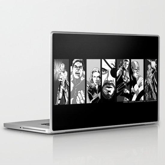 Avengers Assemble Laptop & iPad Skin