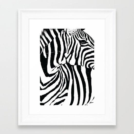 Rectanglebra Framed Art Print