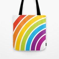 A Rainbow World Tote Bag