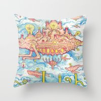 The Lights Tour Throw Pillow