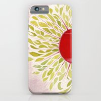 iPhone & iPod Case featuring Each Leaf by angela deal meanix