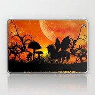 Beautiful Unicorn Silhou… Laptop & iPad Skin