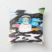 Open Sky Throw Pillow