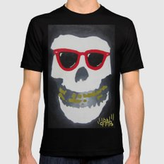 Old Dirty-Crimson Ghost-Face Killa SMALL Mens Fitted Tee Black