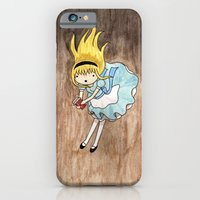 iPhone & iPod Case featuring alice by Sofia Mansilla