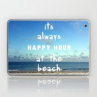 Happy Hour at the Beach Laptop & iPad Skin