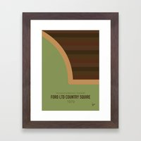 No021 My National Lampoo… Framed Art Print