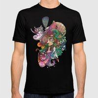 Designing Life Mens Fitted Tee Black SMALL