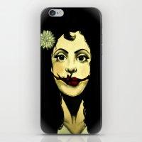 Black Dahlia iPhone & iPod Skin