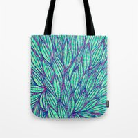 Natural leaves Tote Bag