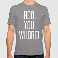 Mean Girls #4 – Boo Mens Fitted Tee Tri-Grey SMALL