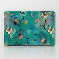 The Butterflies & The Be… iPad Case