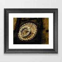 Tick, Tick, Tick Framed Art Print