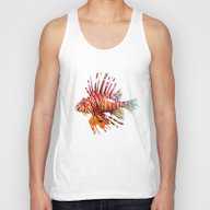Lionfish Unisex Tank Top